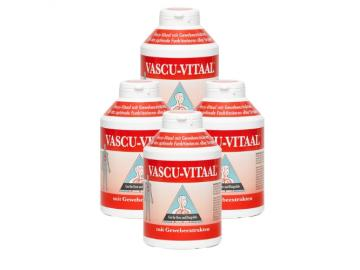 Original Vascu Vitaal 4 Dosen Vorteilspack, 1200 Tabletten